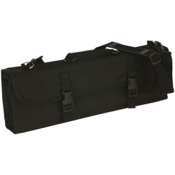 Knife Case - Black, Polyester - will hold 16 pieces (Sold Singly)