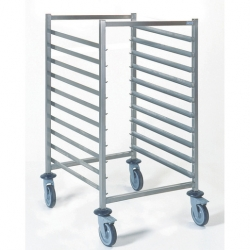 Tournus Equipement Gastronorm Storage Trolley - 10 Tier 2/1GN