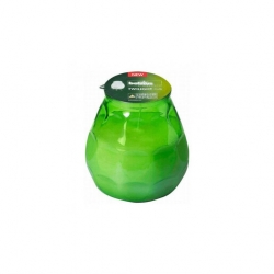 Bolsius Twilight Low Boy Candle Green