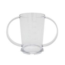 Harfield 2 Handled Beaker Polycarb 26cl Clear
