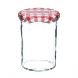Kitchencraft Home Made 440ml Preserving Jar with Screw Top Lid