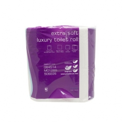 Extra Soft Luxury Toilet Tissue 2Ply White (40 pcs)