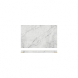 1/3 Gastro White Marble Effect Display Slab (6 pcs)