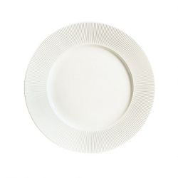 Chef And Sommelier Ginseng Plate White 31cm