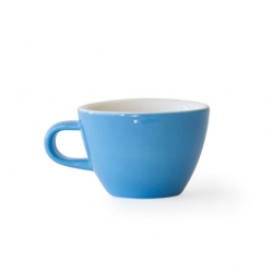 Acme and Co Acme Blue Flat White Cup
