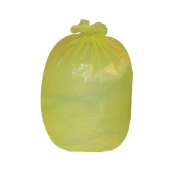 Coloured Refuse Sack 10KG Yellow