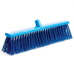 Professional Hygiene Broom Head Stiff Blue 50cm (Sold Singly)