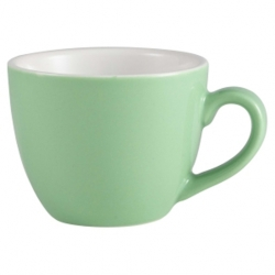 Royal Genware Bowl Shaped Cup 9cl Green