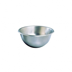 Hemispherical Mixing Bowl 200mm Stainless Steel