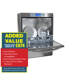 Winterhalter UC Dishwasher with Softener X-Large