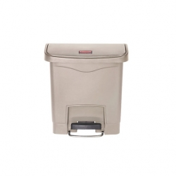 Slim Step-On Bin Front Step 15 ltr Beige (Sold Singly)