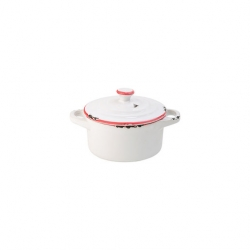 Avebury Red Mini Casserole 4 inch 10.5cm (12 pcs)