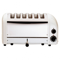 Dualit 60146 6 Slot Vario Toaster - White (Sold Singly)