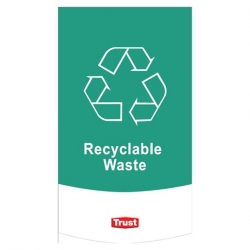 Waste Classification Symbols- Recyclable (10 pcs)