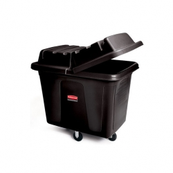 Lid For Cube Truck Black 200ltr (Sold Singly)