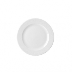 Churchill Bamboo Footed Plate White 9.125 inch 23.4cm