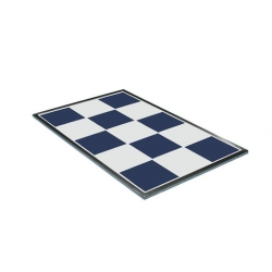 Hot Tile Ceramic Blue & White 1/1 Gastronorm