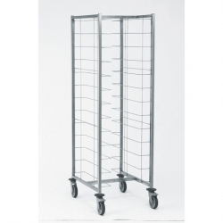Tournus Equipement Self-Service Tray Trolley - 12 Tier