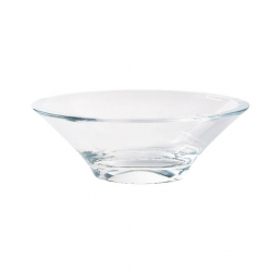 Purity & Divinity Bowl Oval Clear 5.5 x 16cm (24 pcs)