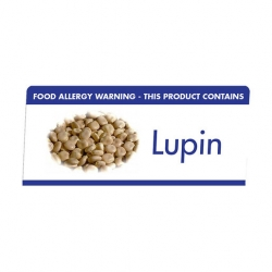 Allergen Buffet Notice Lupin