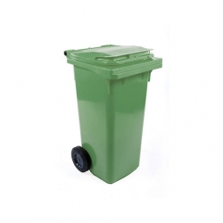 Fletcher European Wheelie Bin Green 120ltr