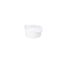 Royal Genware Casserole Dish White 22cl (6 pcs)