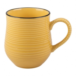 La Cafetiere Yellow Brights Mug 17.6floz/500ml