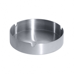 Ashtray Stainless Steel 10cm Dia (Sold Singly)