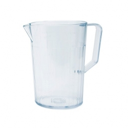 Harfield Antibacterial Jug Clear Polycarbonate 1.1ltr