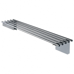 Simply Stainless 1200mm Piped Wall Shelf