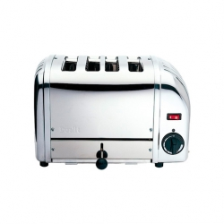Dualit 43021 4 Slot Bun Toaster - Stainless Steel (Sold Singly)