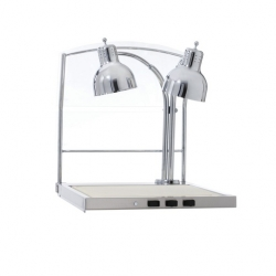 Alto Shaam Alto-Shaam CS-200/S Double Lamp Carving Station