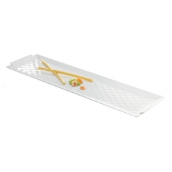 Revol Bombay Rectanngular Tray White 26 x 11cm