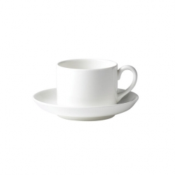 Wedgwood Connaught Cup White Stackable 20cl