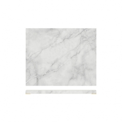 1/2 Gastro White Marble Effect Display Slab (6 pcs)