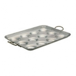 Egg Fryer 12 Indent Aluminium 50cm (Sold Singly)