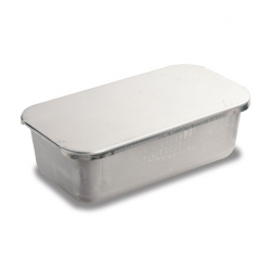 Baking Pan With Lid Aluminium 27.3x14.7x4.1cm (Sold Singly)