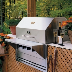 Crown Verity Built In Barbecue Grill 710x533mm
