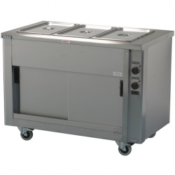 Victor Heavy Duty Bain Marie Hotcupboard 1205mm