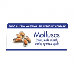 Allergen Buffet Notice Molluscs