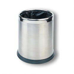 Hidden Bag Bin Silver 10ltr (Sold Singly)