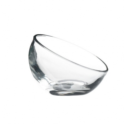 Artis Bubble Dessert Dish 4 1/2oz Clear