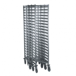 Tournus Equipement Stackable Gastronorm Storage Trolley - 20 Tier 1/1GN