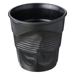 Revol Crumple Cup Champagne / Ice Bucket 300cl Black