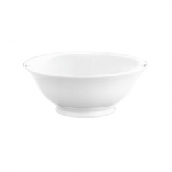 Salad Bowl White 22cm 185cl (Sold Singly)