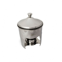 Chafing Dish Sauce Station Set 1.3 Litre S/S (Sold Singly)