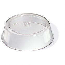 Stewarts Plate Cover Clear Plastic Round 21cm