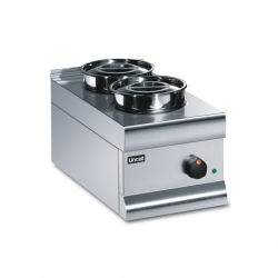 Lincat Silverlink 600 BS3 Dry Well Bain Marie 2 Pot (Sold Singly)