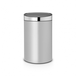 Brabantia Touch Bin New, 40L, Metallic Grey