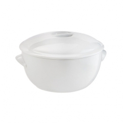 Casserole Dish White 2.7ltr (Sold Singly)